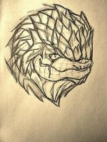 Krogan-practice by AZURA-FANG
