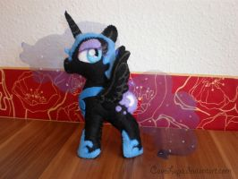 Nightmare Moon plush by CaveLupa