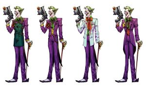 Joker line-up by Chuckdee