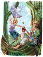 The legend of zelda by Arashi-H