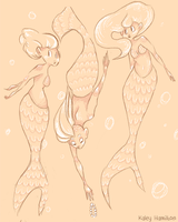 Mermaids by MaryAQuiteContrary