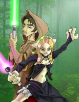 Lovers in the Force by chrisbeaver