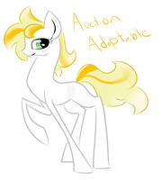 Auction Pony Adopt by hanner2499