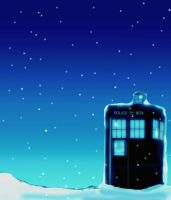 Winter Tardis ver. 2 by Ryuuzaki-L-spy-19