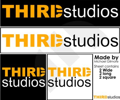 THIRDstudios Logo sheet by SakuaHarioto