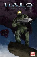 Halo: Uprising Cover by DoNotThrowAway