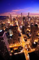 Chicago Skyline2 by porbital