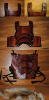 SCA Armor: Breastplate by Epic-Leather