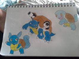 Squirtle Evolution by Necrophilliacness