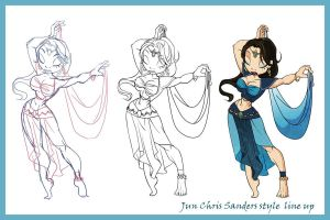 Chris Sanders Jun by coda-leia