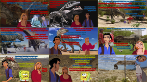 Tulio and Miguel in The Ballad of Big Al (Spinoff) by Dinodavid8rb