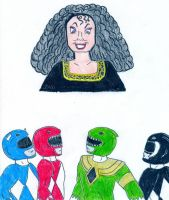 Rangers vs Gothel by Jose-Ramiro