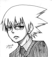 Soul Eater Evans sketch by Cisol