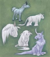 Ugly Unicorns by Vamtaro