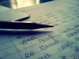 pencil.paper.feelings...wasted by MaAscund