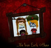 we love each other by tmpatsmpah