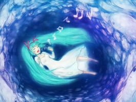 song of the ocean by Scarlet-Songstress