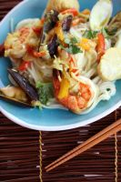 Thai Seafood Noodles (9) by laurenjacob