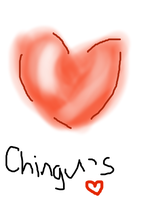 Chinguchan's heart by PrincetonsMonster
