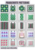 new society6 patterns! by cillermiller