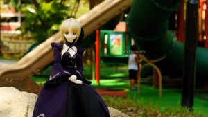 At the playground by shawnical
