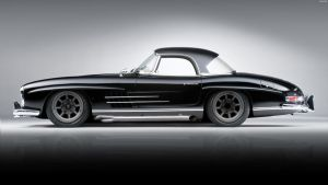 Mercedes-Benz 300SL '57 by HAYW1R3