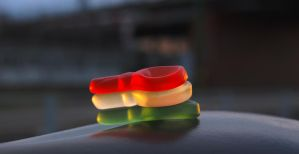Hungary flag colors of gum by Seth890603