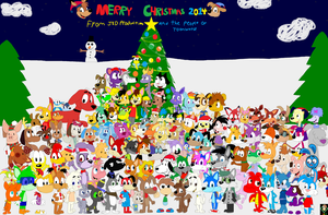Christmas Group Picture 2014 by JustinandDennnis