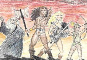 Gauntlet by Captain-Chaotica