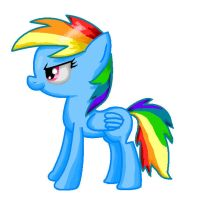 A Rainbow Dash thing by Zoiby
