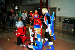 Blazblue Team by PrisCosplay