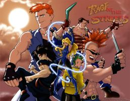 Streets of Rage 2 by TenderSman