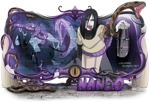 Orochimaru Sign by Cristiano-LoLDark