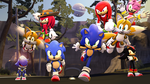 Sonic's 25th Anniversery by Legoguy9875