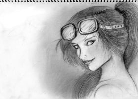 Sketchy Sketch - Sly Fly by tourettesz