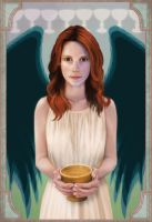 SPN: Nine of Cups by Slinkymilinky