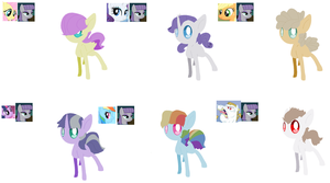 Maud Foal Adopts closed by angelstars-adopts