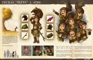 Seeya Character Sheet by Hozure
