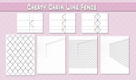 Quick n Dirty Chainlink Fence by Pyxelle-art
