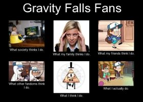 Gravity Falls Fans by FandomMemesForever