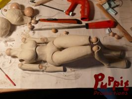 W.I.P: Firefox BJD - coming together by PuppitProductions