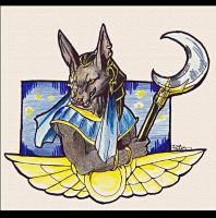 Anubis' Night by IzaPug