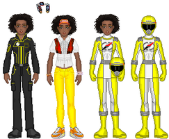 OO Revamp: Yellow Ranger by TerenceTheTerrible