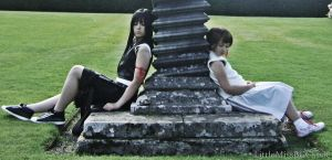 Tifa and Marlene: Final Part by BethanyGraceCosplay