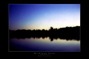 Michigan Dusk by MarkShannon-Prints