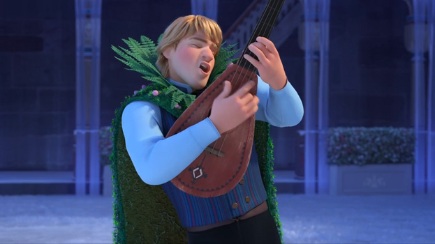 Disney Olaf Frozen Adventure: Kristoff new outfits by blueappleheart89