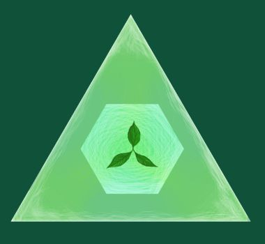 daily triangle 4: leaves by overflowid