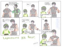 Avatar: Leprechauns ARE real by BlckMagick