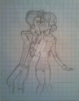 INSPECTOR GADGET 2015: Talenny Kiss Sketch by DarkPrincess116