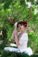 girl reindeer by Cheza-Flower